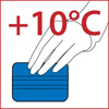Минимальная температура приклеивания